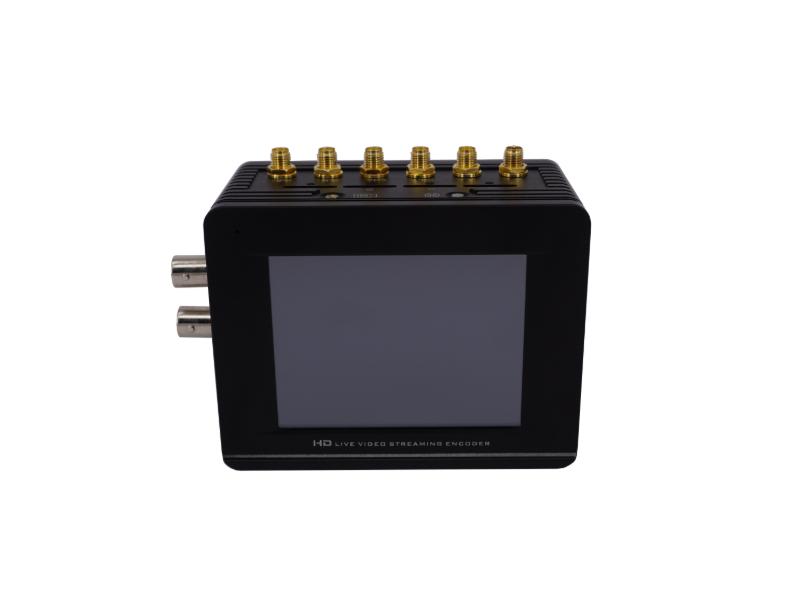 背包式4G 双机位聚合视频直播编码器