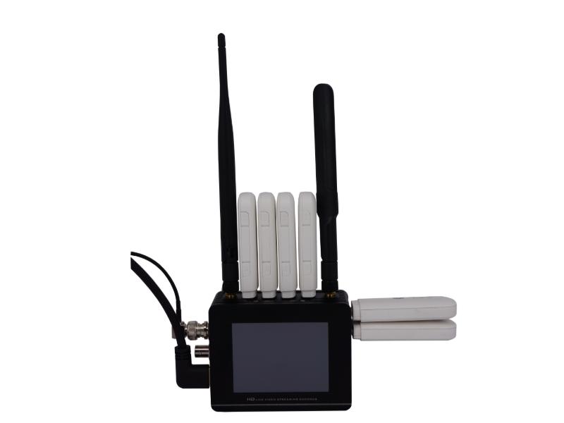 背包式双机位USB 4G 聚合视频直播编码器